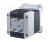 Transformátor bezpečnostní 200VA 230VAC 12V IP20 Montáž: DIN