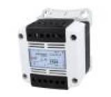 Transformátor ochranný 200VA 230VAC 230V IP20 Montáž: DIN