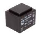 Transformátor: zalévaný 2,1VA 230VAC 12V 175mA Montáž: PCB