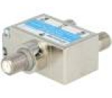 Splitter galvanic isolator Input: F female Output: F female x2