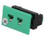 Konektor pro termočlánky zásuvka zásuvka PIN:2