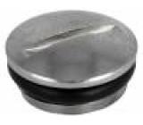 Záslepka M12 IP68 Mat: mosaz Řada výr: SKINDICHT Povlak: nikl