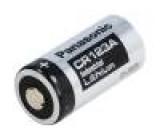 Baterie lithiové 3V CR123A, CR17345 Ø17x34,5mm 1400mAh