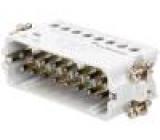 Konektor HTS vidlice HTS HA PIN:16 velikost 7 (2 x 5) 16A