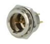 AG4MCC Zásuvka XLR mini vidlice PIN:4 pájení