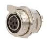 AG5FCE Zásuvka XLR mini zásuvka PIN:5 pájení