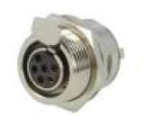 AG6FCE Zásuvka XLR mini zásuvka PIN:6 pájení