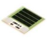 Rezistor: thick film topný lepením 8,1Ω 10W 12,7x12,7x1mm