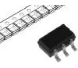 BSD223PH6327XTSA1 Tranzistor: P-MOSFET unipolární -20V -390mA 250mW PG-SOT-363