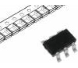 BSL207SPH6327XTSA1 Tranzistor: P-MOSFET unipolární -20V -6A 2W PG-TSOP-6
