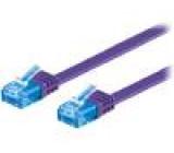 Patch kabel 6a licna PVC RJ45 vidlice, z obou stran 1,5x6mm