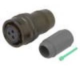 Konektor kulatý PT zástrčka zásuvka PIN:3 vnitřní bajonet