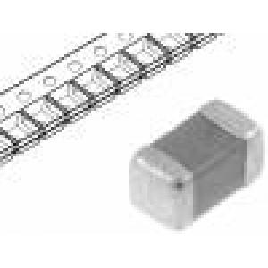 Kondenzátor keramický MLCC 1nF 25V C0G ±5% SMD 0603