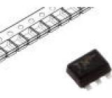 NTZD3155CT1G Tranzistor: N-MOSFET unipolární 20V -310/390mA 250mW SOT563-6