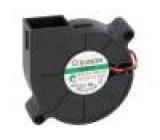 Ventilátor: DC blower 12VDC 51,7x51,6x15mm 7,65m3/h 39,8dBA