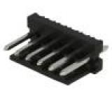 Zásuvka kabel-pl.spoj vidlice PIN:6 3,96mm THT MAS-CON přímý