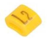 Kabelové značky pro kabely a vodiče Symbol štítku: L2 H:3mm