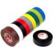 Knot: elektroizolační W:19mm L:25m D:0,13mm 180% 1,8N/cm 25N