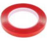Knot: upevňovací W:12mm L:5m D:1mm Lepidlo: akrylové 100°C
