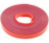 Knot: se suchým zipem W:9mm L:5m Použití: upevňování D:0,25mm