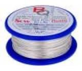 Postříbřené dráty 0,5mm 100g 60m -200÷800°C