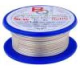 Postříbřené dráty 1mm 100g 14m -200÷800°C