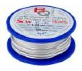 Postříbřené dráty 1,5mm 100g 6m -200÷800°C