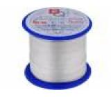 Postříbřené dráty 2mm 250g 8m -200÷800°C Žíla: Cu, postříbřené