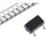 BC847AW.115 Tranzistor: NPN 45V 200mA 200mW SOT323