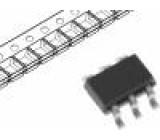 FDC640P Tranzistor: P-MOSFET unipolární 20V 4,5A 1,6W SuperSOT-6