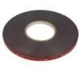 Páska: upevňovací W:9mm L:33m Použití: upevňování, lepení