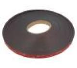 Páska: upevňovací W:12mm L:33m Použití: upevňování, lepení