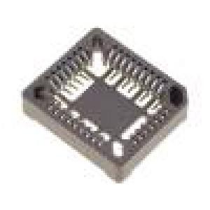 Patice PLCC 32 PIN fosforový bronz 1A termoplast UL94V-0 SMT