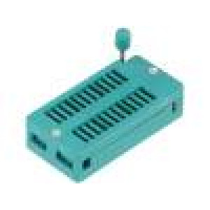 Patice DIP ZIF 24 PIN 7,62/15,24mm rozebíratelná -40-105°C