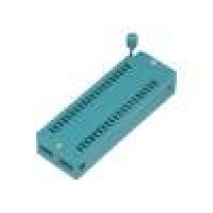 Patice DIP ZIF 40 PIN 15,24mm rozebíratelná -40-105°C THT