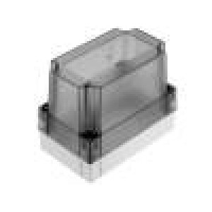 Krabička univerzální MNX X:80mm Y:130mm Z:100mm ABS šedá IK07