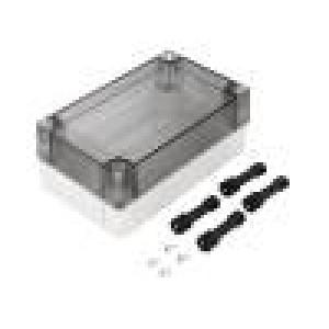 Krabička univerzální MNX X:80mm Y:130mm Z:50mm ABS šedá IK07