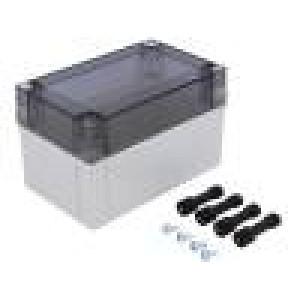 Krabička univerzální MNX X:80mm Y:130mm Z:75mm ABS šedá IK07
