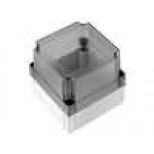 Krabička univerzální MNX X:130mm Y:130mm Z:125mm ABS šedá IK07