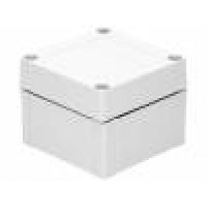 Krabička univerzální MNX X:100mm Y:100mm Z:75mm ABS šedá IK07