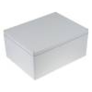 Krabička univerzální ALUEIN X:310mm Y:400mm Z:180mm hliník šedá