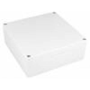 Krabička univerzální 1554 X:160mm Y:160mm Z:60mm ABS šedá