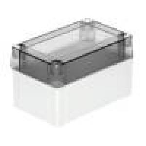 Krabička univerzální MNX X:80mm Y:130mm Z:75mm polykarbonát šedá