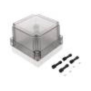 Krabička univerzální MNX X:130mm Y:130mm Z:100mm polykarbonát