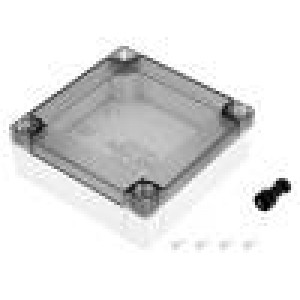 Krabička univerzální MNX X:100mm Y:100mm Z:35mm polykarbonát