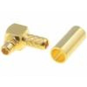 Zástrčka MMCX vidlice přímý 50Ω RG174,RG188,RG316 krimpovací