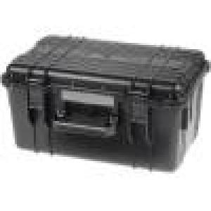 Zásobník - přepravní kufřík 330x210x170mm černá ABS