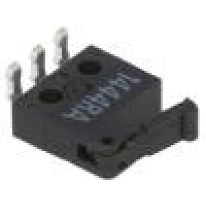 Mikrospínač s páčkou SPDT 0,5A/30VDC ON-(ON) 1-polohové IP40