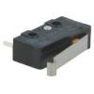 Mikrospínač s páčkou simulující kladku SPDT 10A/250VAC IP40