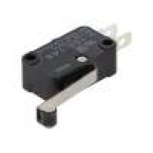 Mikrospínač s páčkou (s kladkou) SPDT 15A/250VAC 0,6A/125VDC